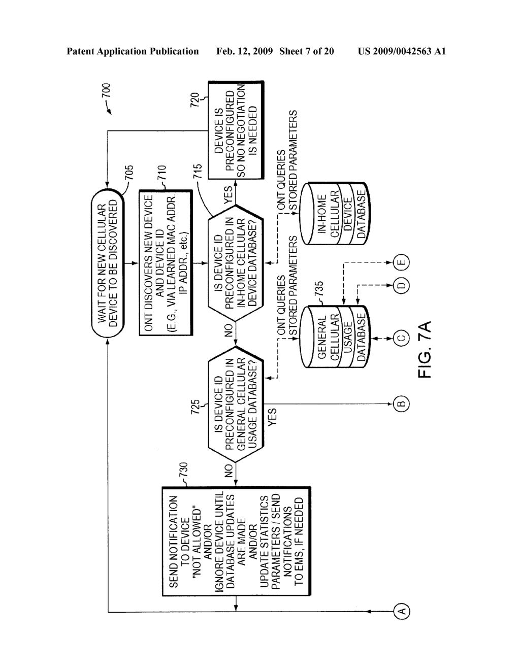 Method and apparatus to support services for a non-resident device - diagram, schematic, and image 08
