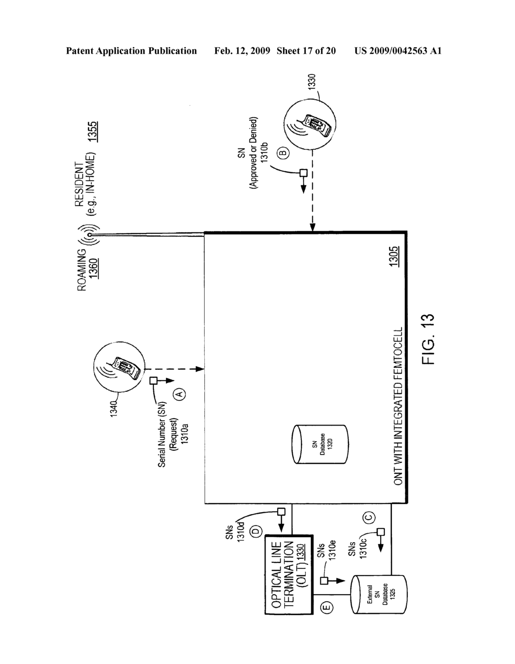 Method and apparatus to support services for a non-resident device - diagram, schematic, and image 18