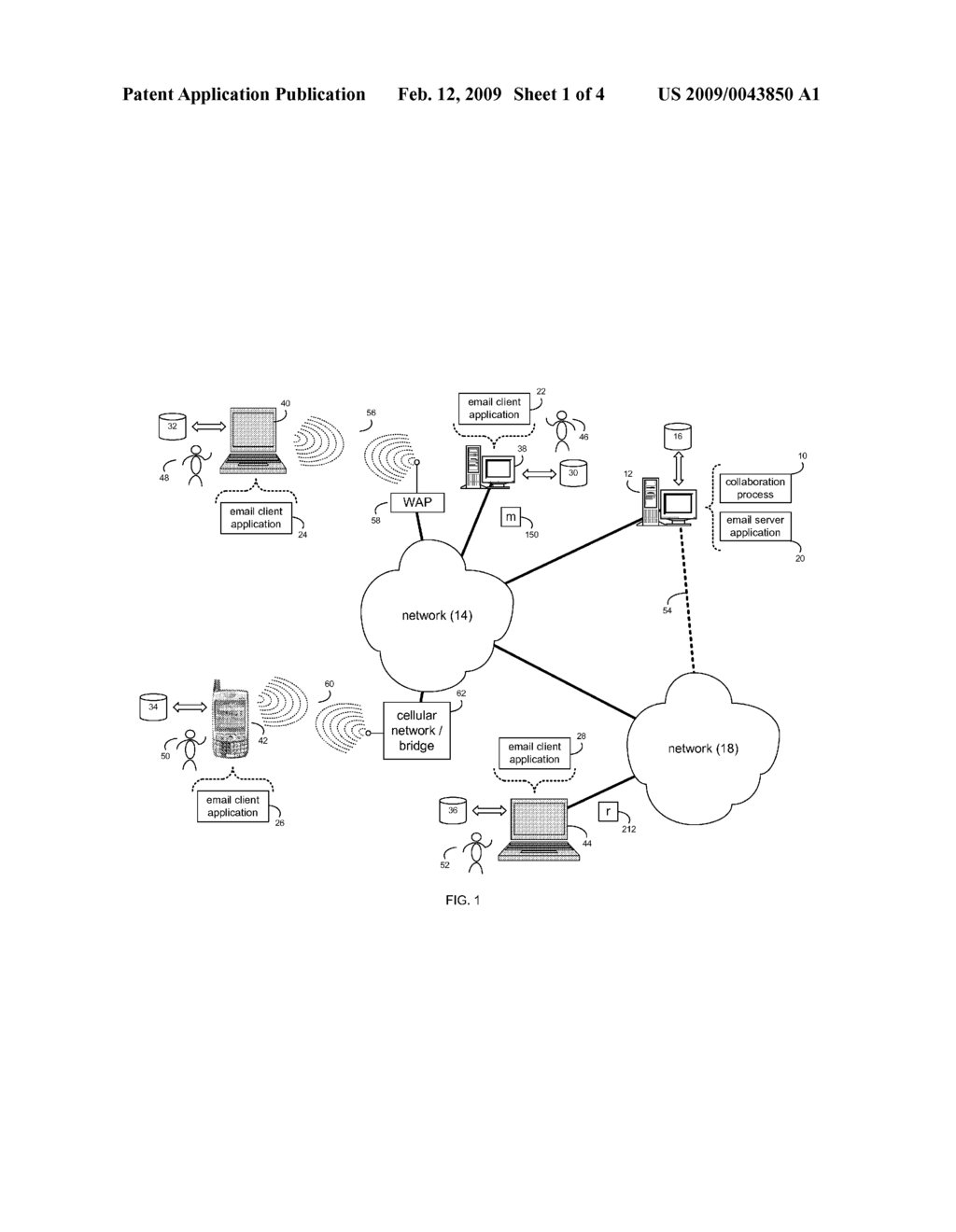 SYSTEM AND METHOD FOR COLLABORATION - diagram, schematic, and image 02
