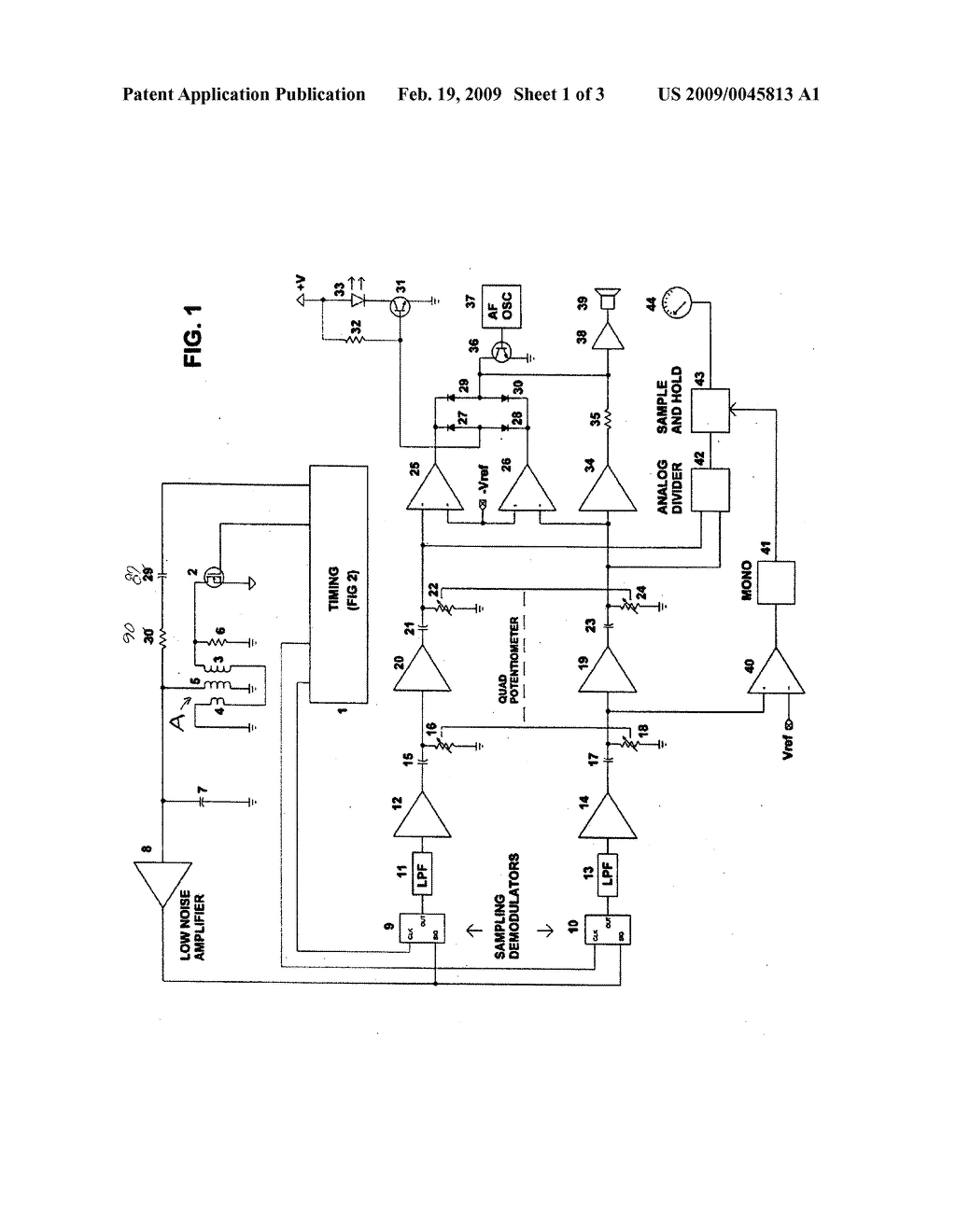 Pulse Induction Metal Detector Circuit Design Wiring Diagram A Simple Bfo Resonant Schematic And Rh Patentsencyclopedia Com Boards Build