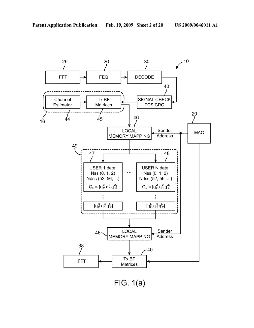 Method and Apparatus for Calibration for Beamforming of Multi-Input-Multi-Output (MIMO) Orthogonol Frequency Division Multiplexing (OFDM) Transceivers - diagram, schematic, and image 03