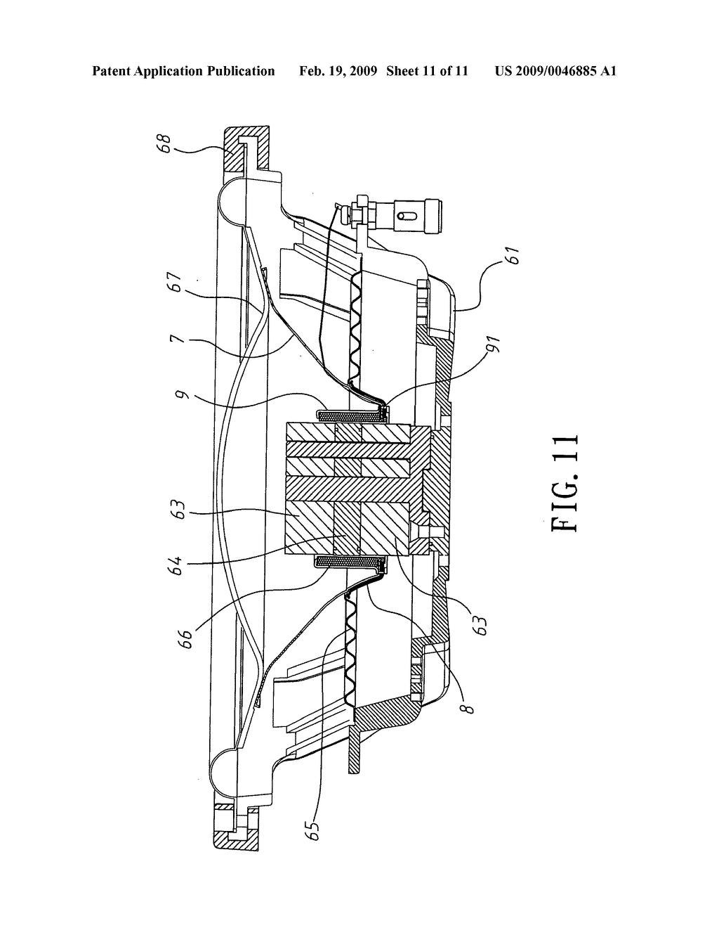 speaker damper mounting structure diagram, schematic, and image 12 Speaker Diagram Speaker Diagram #34 speaker diagram