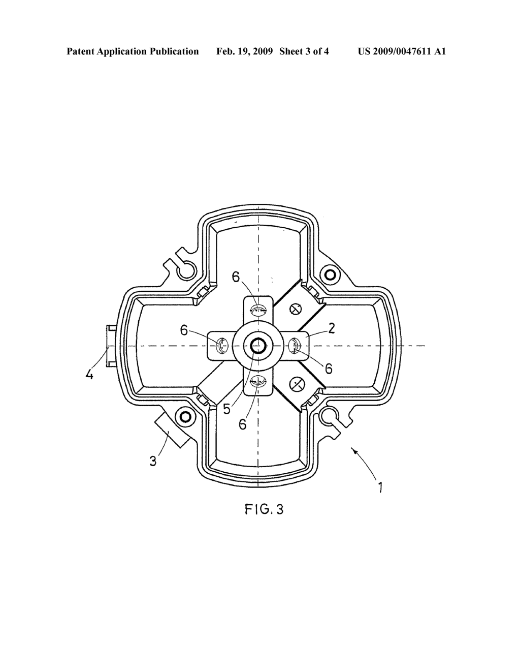 High-power double burner for gas cookers, with multiple concentric flame crowns - diagram, schematic, and image 04