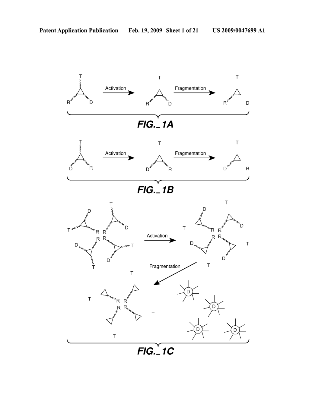 FLUOROGENIC ENZYME ACTIVITY ASSAY METHODS AND COMPOSITIONS USING FRAGMENTABLE LINKERS - diagram, schematic, and image 02
