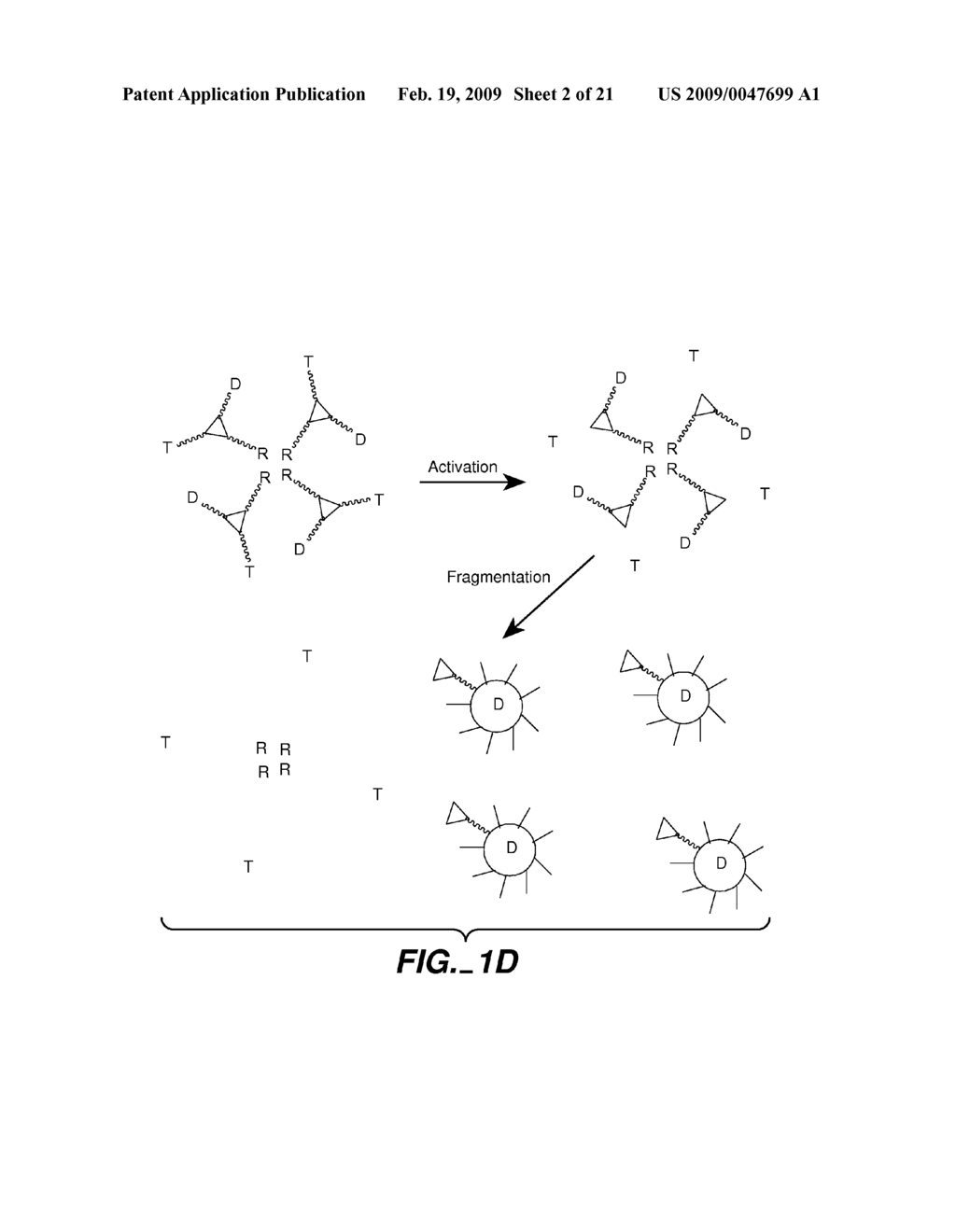 FLUOROGENIC ENZYME ACTIVITY ASSAY METHODS AND COMPOSITIONS USING FRAGMENTABLE LINKERS - diagram, schematic, and image 03