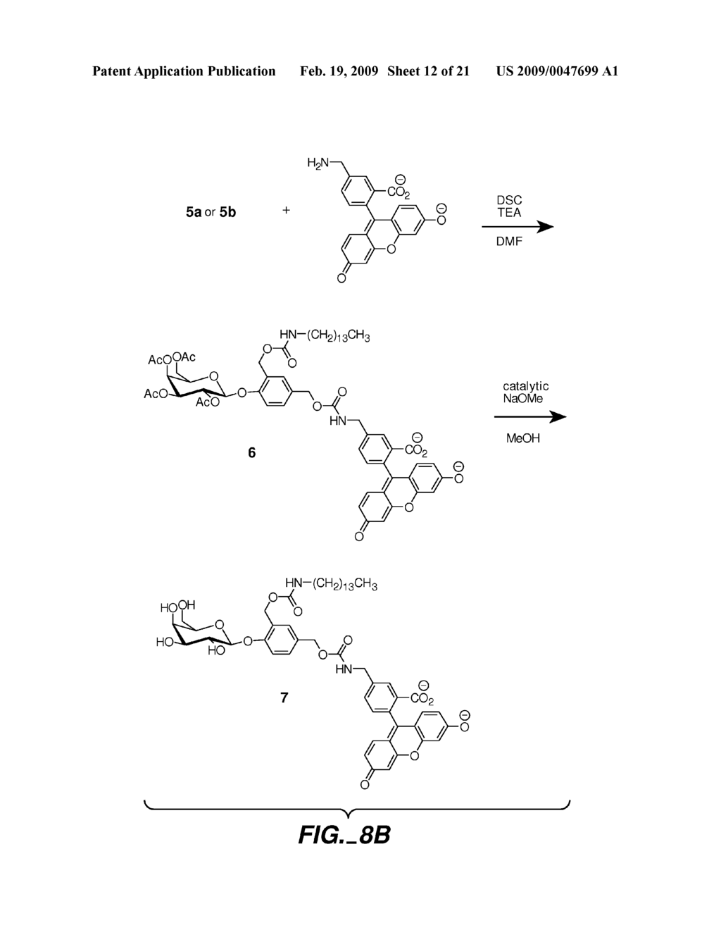 FLUOROGENIC ENZYME ACTIVITY ASSAY METHODS AND COMPOSITIONS USING FRAGMENTABLE LINKERS - diagram, schematic, and image 13