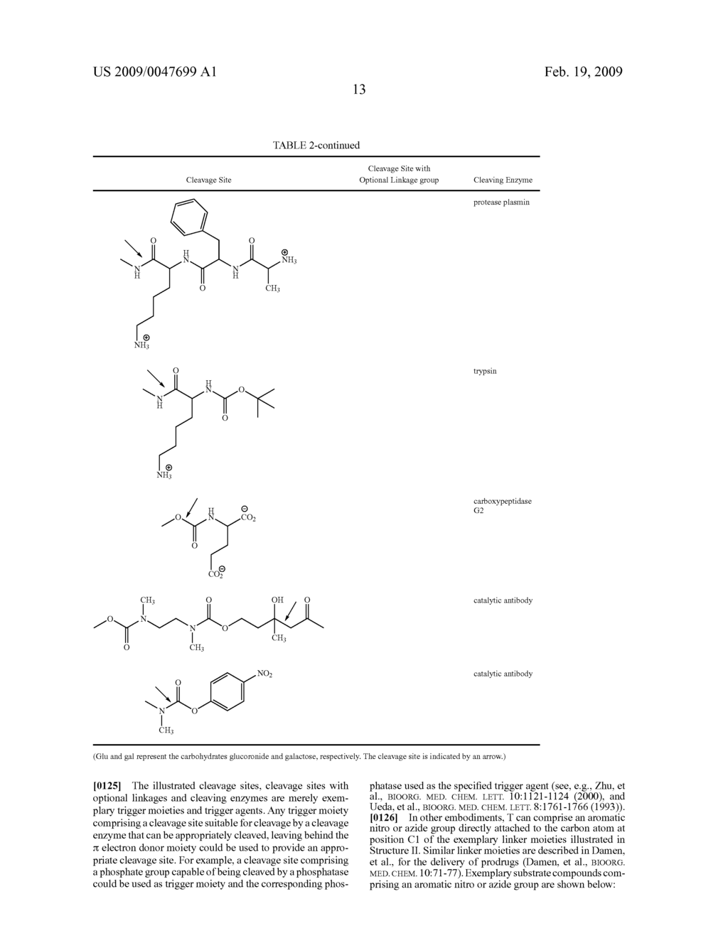 FLUOROGENIC ENZYME ACTIVITY ASSAY METHODS AND COMPOSITIONS USING FRAGMENTABLE LINKERS - diagram, schematic, and image 35