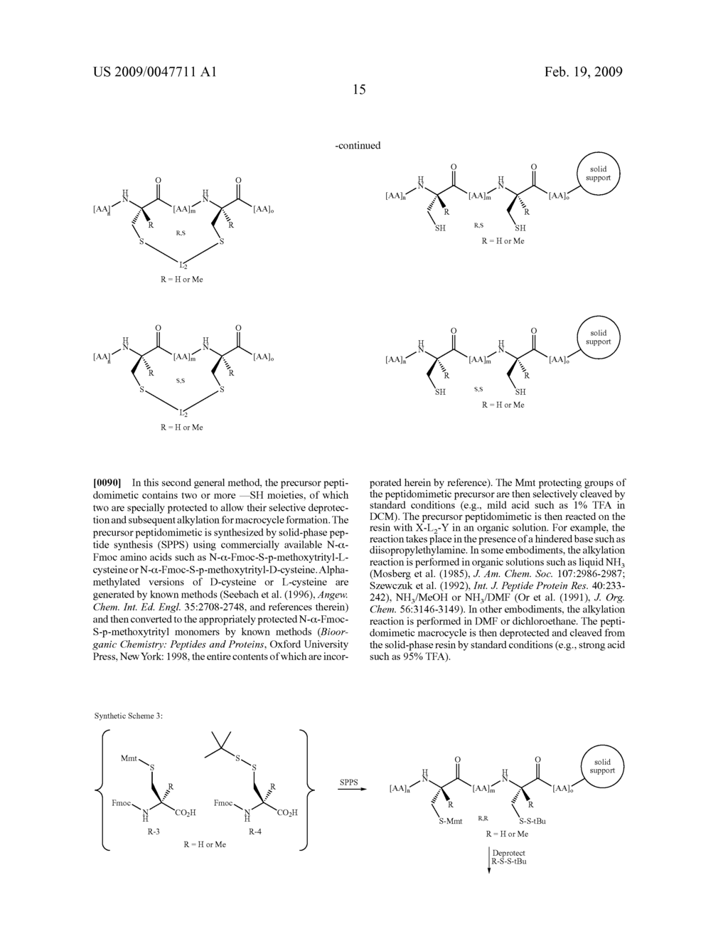 BIS-SULFHYDRYL MACROCYCLIZATION SYSTEMS - diagram, schematic, and image 17