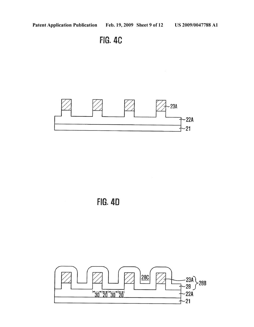 METHOD FOR FABRICATING SEMICONDUCTOR DEVICE - diagram, schematic, and image 10