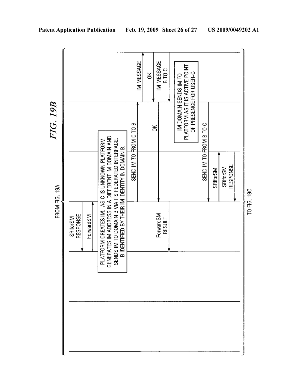 System and Method for SMS/IP Interoperability - diagram, schematic, and image 27