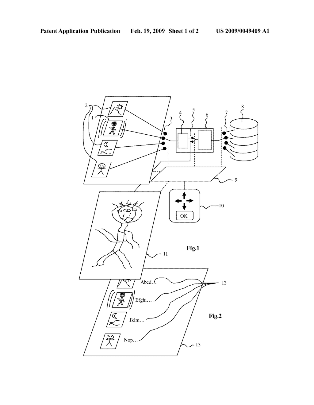 METHOD FOR GENERATING THUMBNAILS FOR SELECTING VIDEO OBJECTS - diagram, schematic, and image 02
