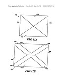 Expandable table and center alignment assembly for such an expandable table diagram and image