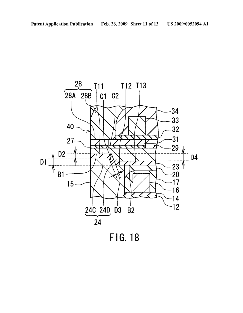 Magnetic head for perpendicular magnetic recording and method of manufacturing the same, the magnetic head including pole layer and two shields sandwiching the pole layer - diagram, schematic, and image 12