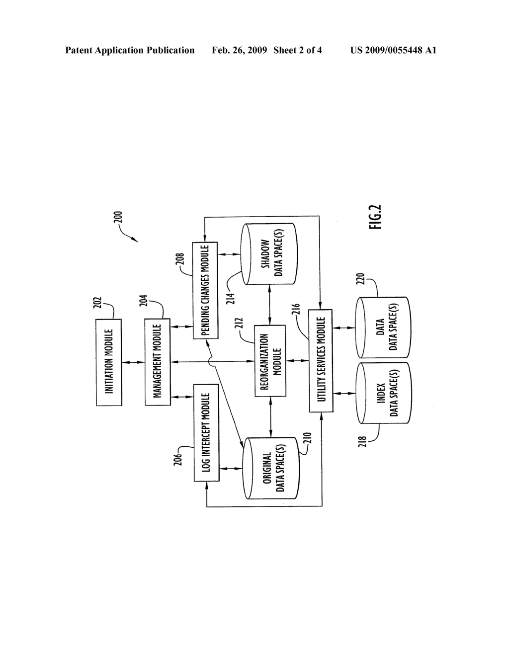 METHOD, APPARATUS, AND PROGRAM FOR CAPTURING DATA CHANGES UTILIZING DATA-SPACE TRACKING - diagram, schematic, and image 03