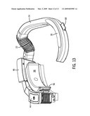 Airflow Headgear for a Welding Helmet diagram and image