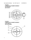 Charcoal / Air BBQ Combustion Chamber Assembly diagram and image