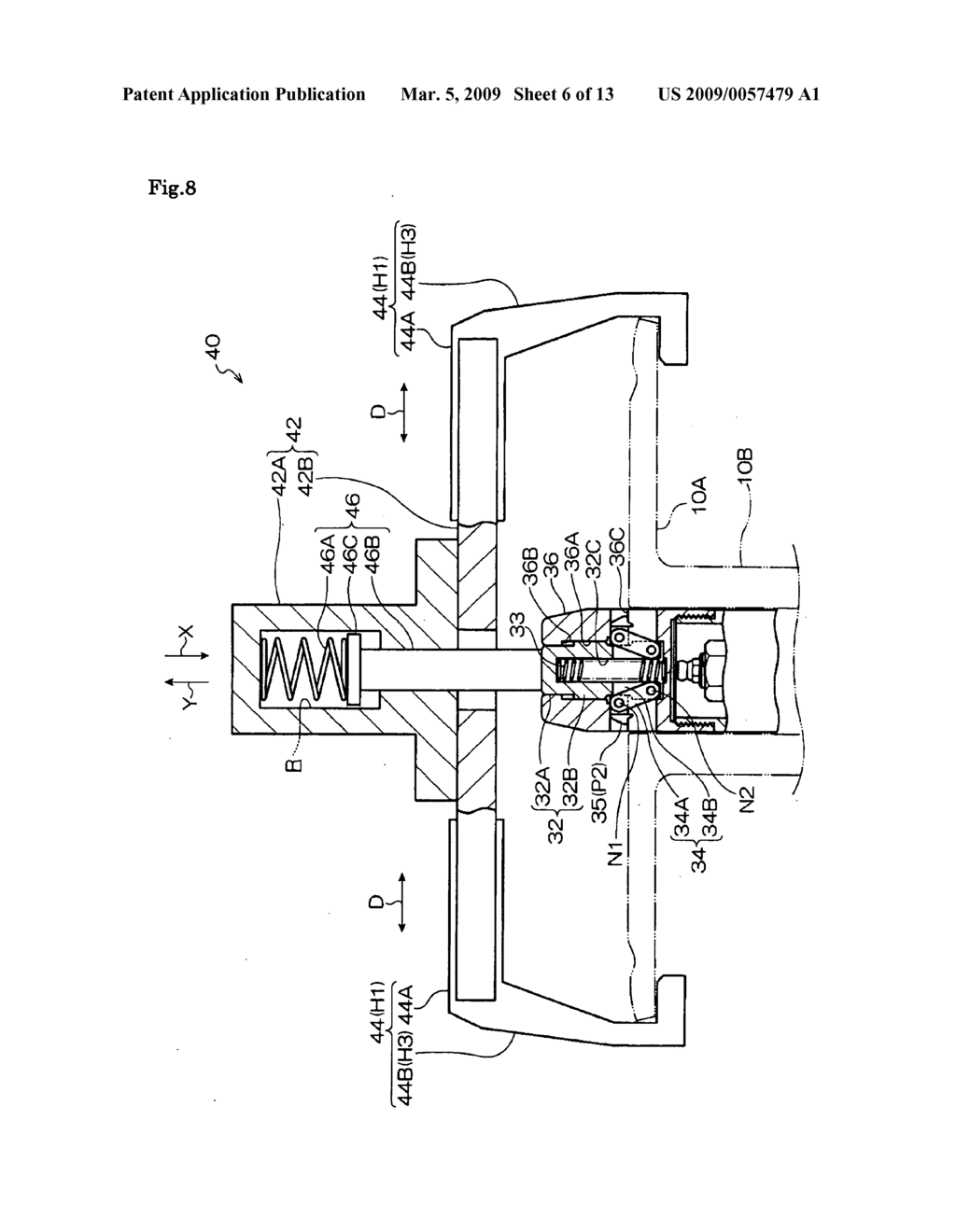 Bobbin Fixing Device and Bobbin Removing Device - diagram, schematic, and image 07