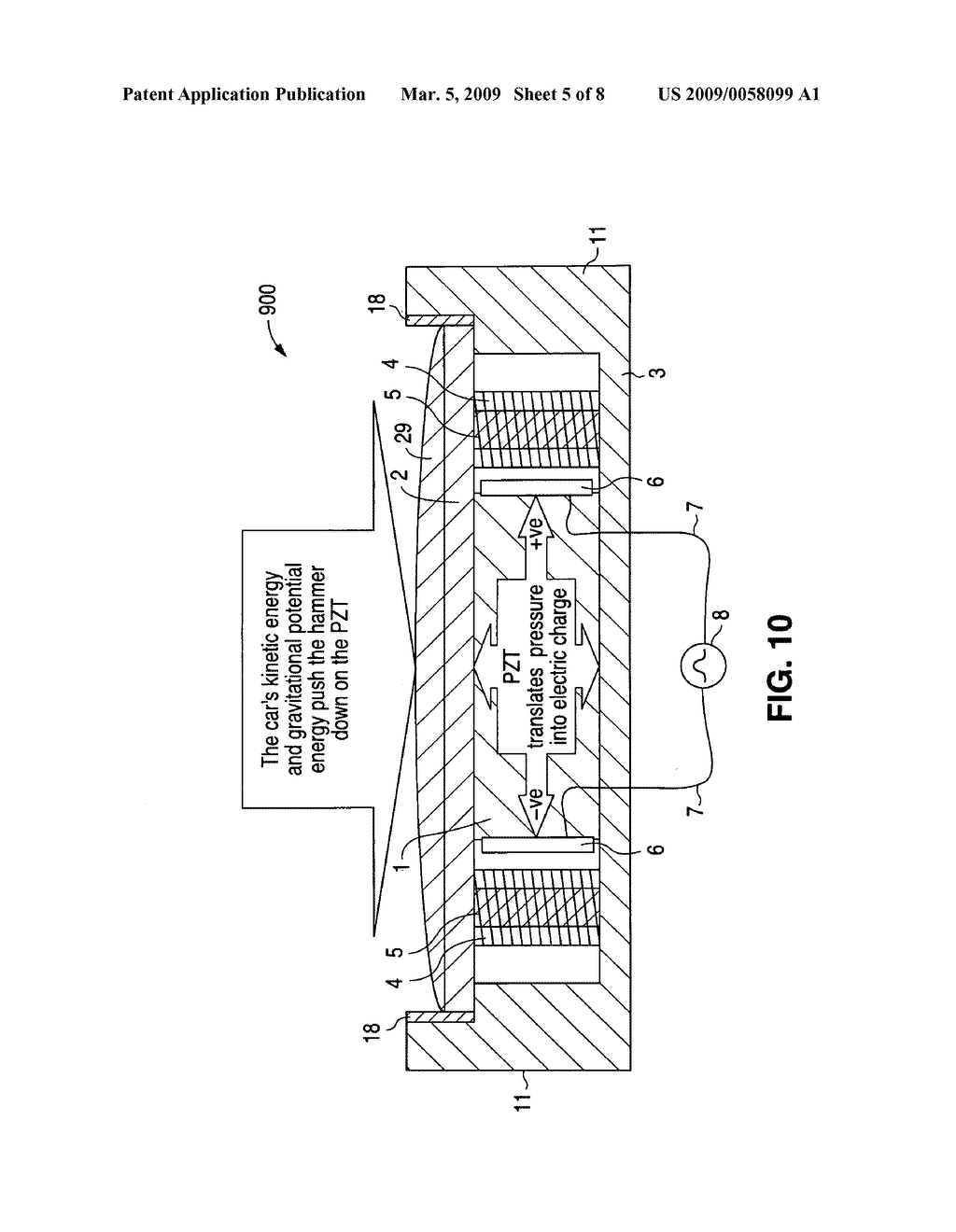 Electro Gravity Plates For Generating Electricity From Passage Of Diagram Vehicles Over The Schematic And Image 06