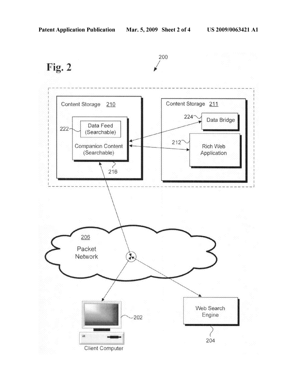 Method and system for making dynamic graphical web content searchable - diagram, schematic, and image 03