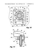 Radially compliant bearing hanger for rotating shafts diagram and image