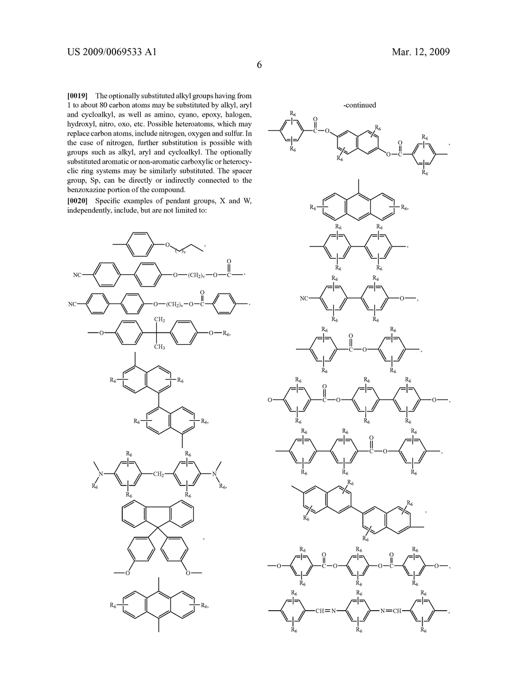 Benzoxazine monomers, polymers and compositions - diagram, schematic, and image 08