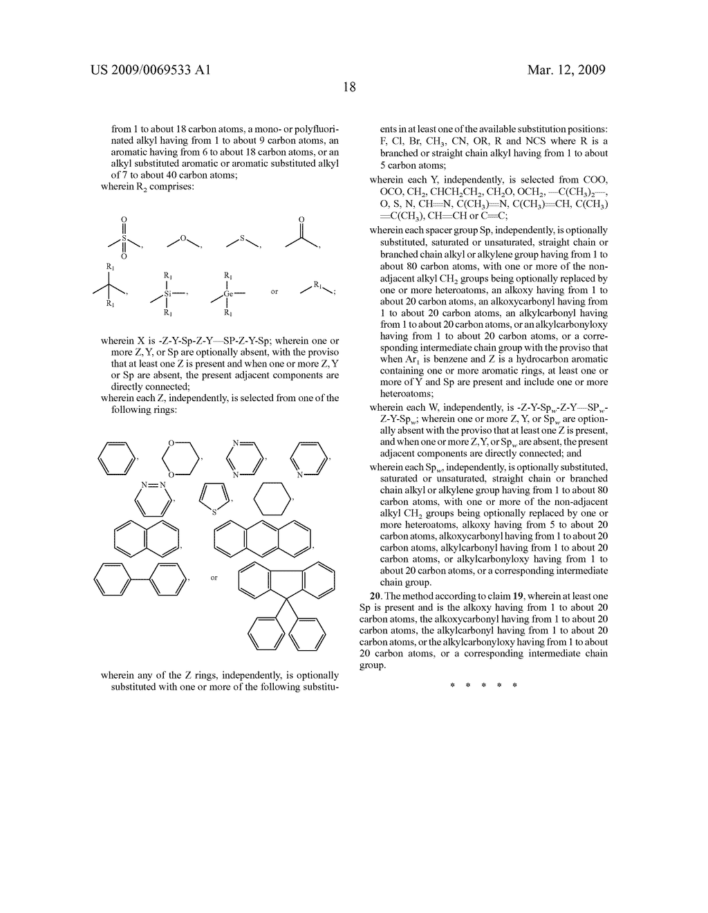 Benzoxazine monomers, polymers and compositions - diagram, schematic, and image 20