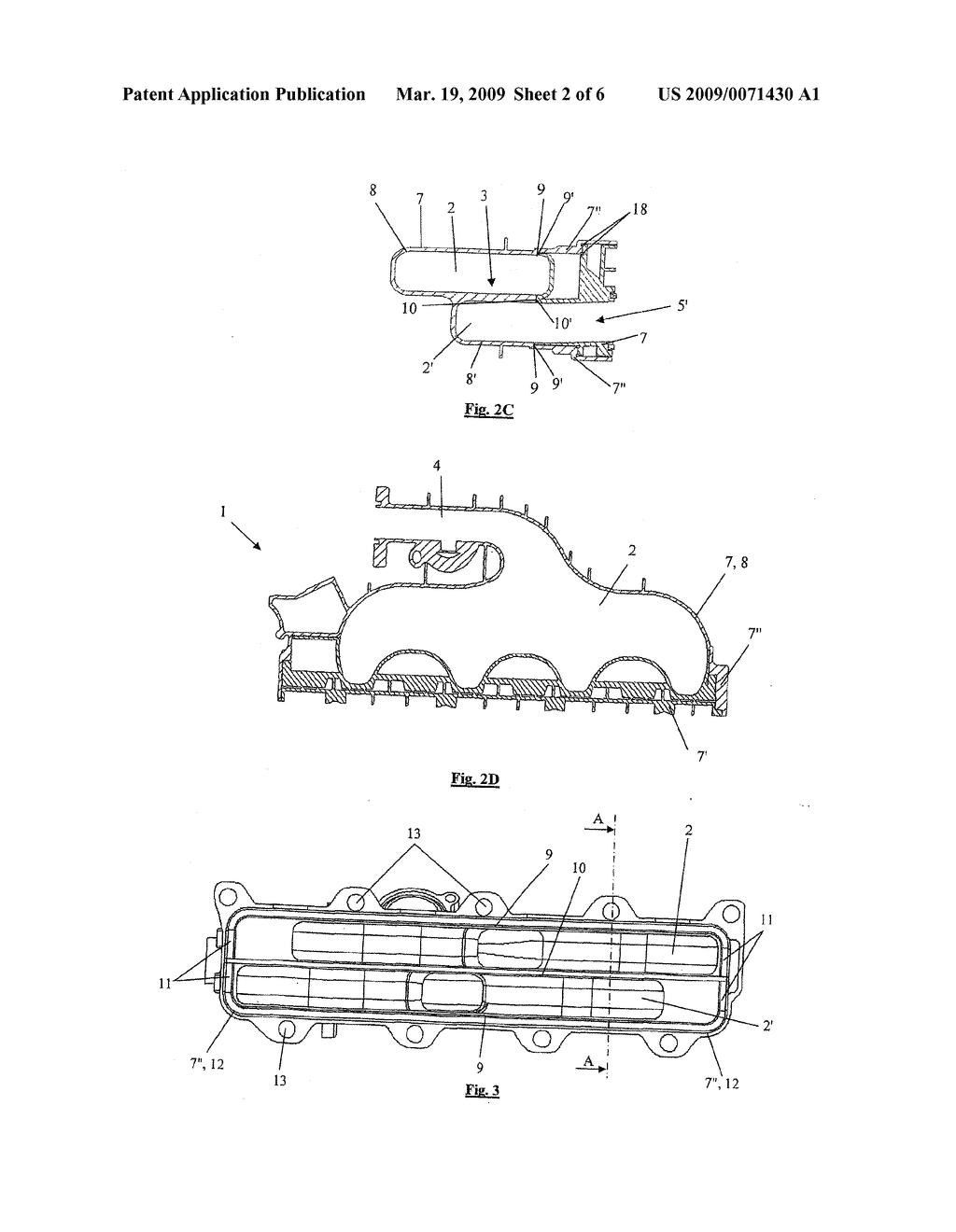 Inlet Manifold Diagram
