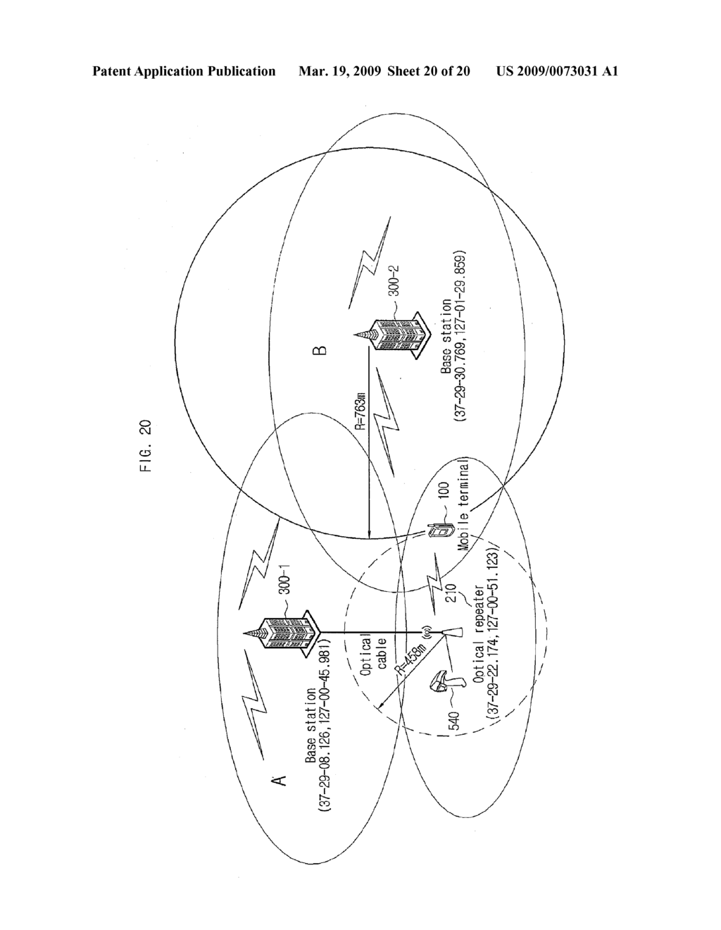METHOD AND SYSTEM FOR MEASURING LOCATION USING ROUND TRIP TIME INFORMATION IN MOBILE COMMUNICATION NETWORK - diagram, schematic, and image 21