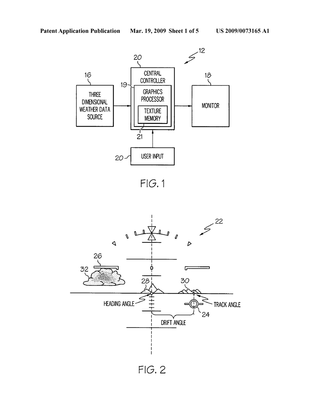 METHOD AND AIRCRAFT DISPLAY SYSTEM FOR GENERATING THREE DIMENSIONAL IMAGE - diagram, schematic, and image 02