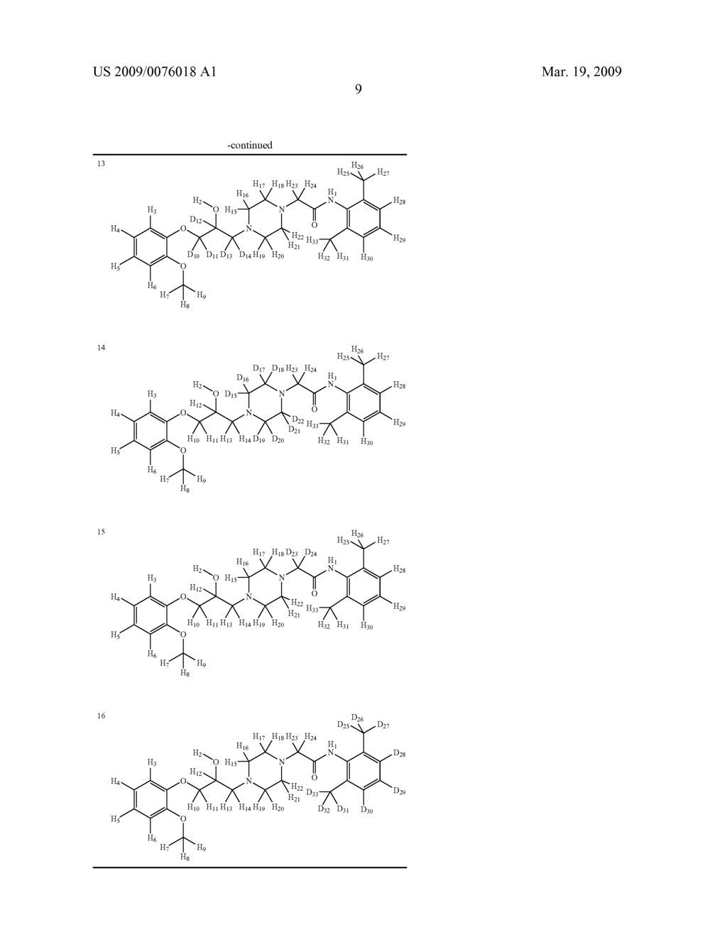 DEUTERIUM-ENRICHED RANOLAZINE - diagram, schematic, and image 10