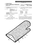 Waterproof and High Heat Resistant Coated Gloves diagram and image