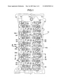 CYLINDER HEAD OIL PASSAGE STRUCTURE diagram and image