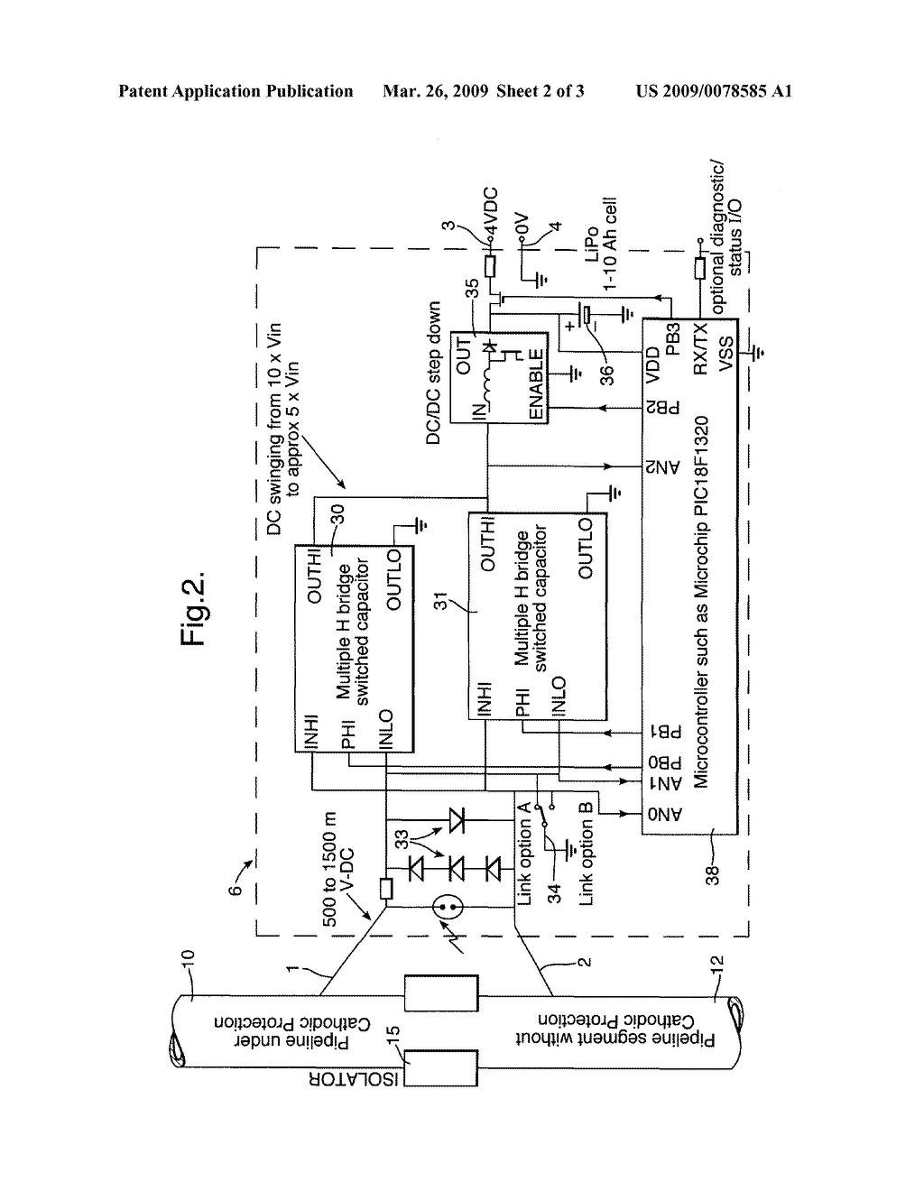 Using An Impressed Current Cathodic Protection System To Power H Bridge Circuit Diagram Electrical Appliances Schematic And Image 03