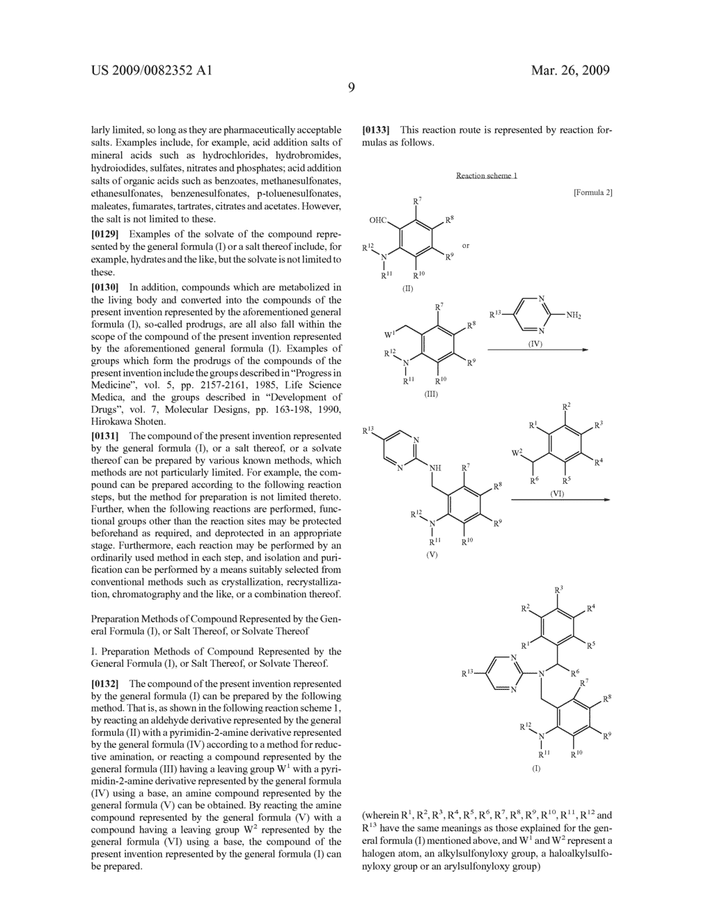 NOVEL PYRIMIDINE COMPOUND HAVING DIBENZYLAMINE STRUCTURE AND MEDICAMENT COMPRISING THE SAME - diagram, schematic, and image 11