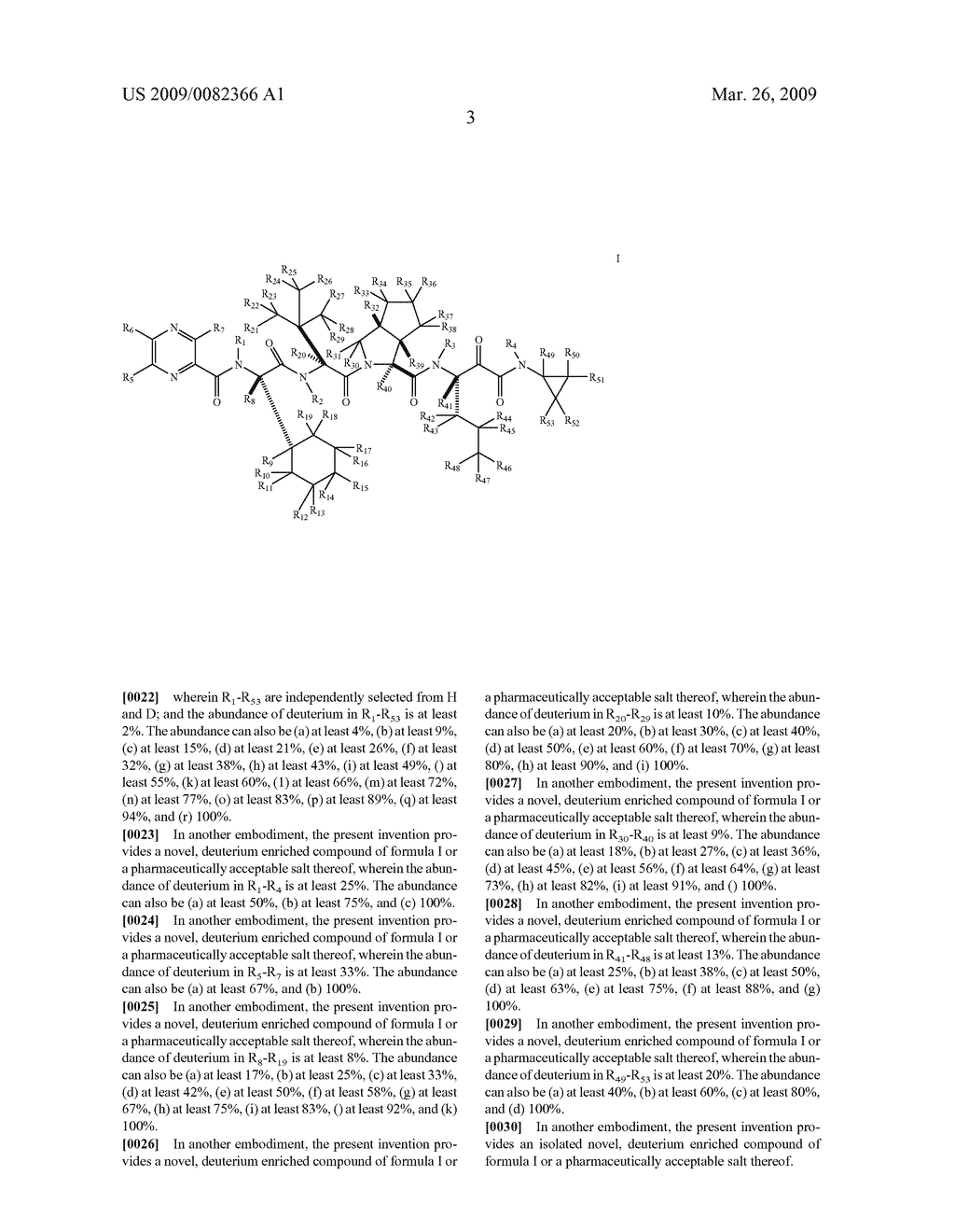 DEUTERIUM-ENRICHED TELAPREVIR - diagram, schematic, and image 04