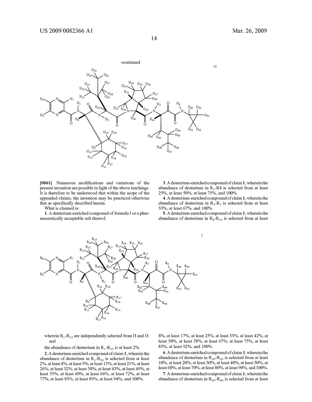 DEUTERIUM-ENRICHED TELAPREVIR - diagram, schematic, and image 15