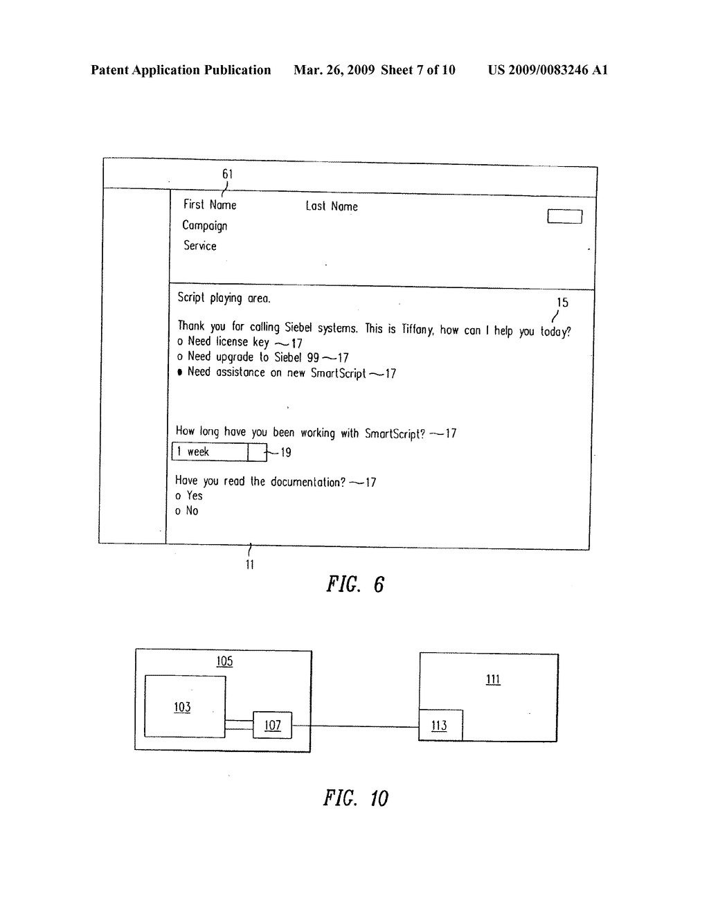 SYSTEM AND METHOD FOR SMART SCRIPTING CALL CENTERS AND CONFIGURATION THEREOF - diagram, schematic, and image 08