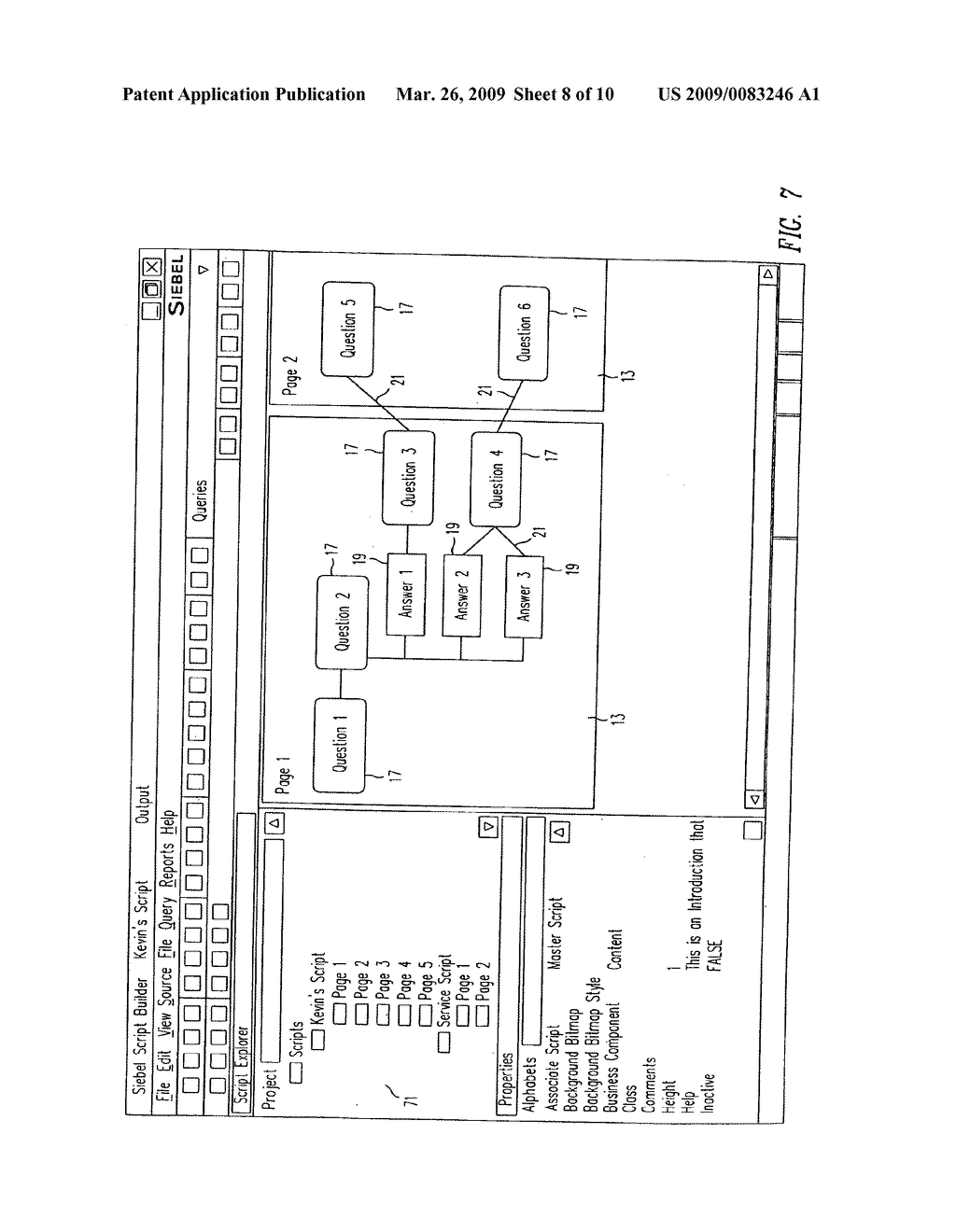SYSTEM AND METHOD FOR SMART SCRIPTING CALL CENTERS AND CONFIGURATION THEREOF - diagram, schematic, and image 09