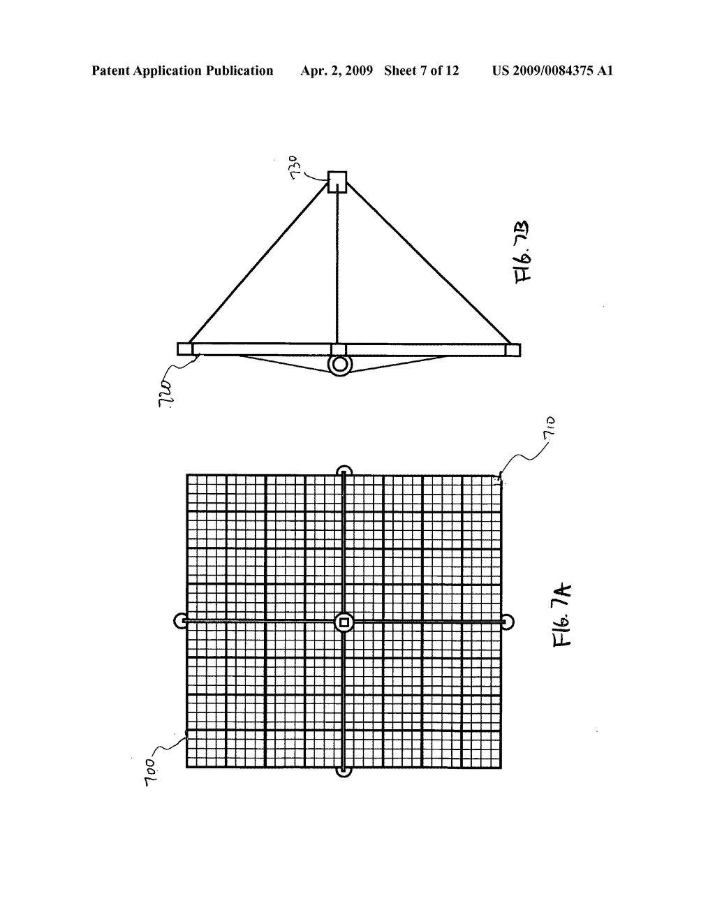 Aligned multiple flat mirror reflector array for concentrating sunlight onto a solar cell - diagram, schematic, and image 08