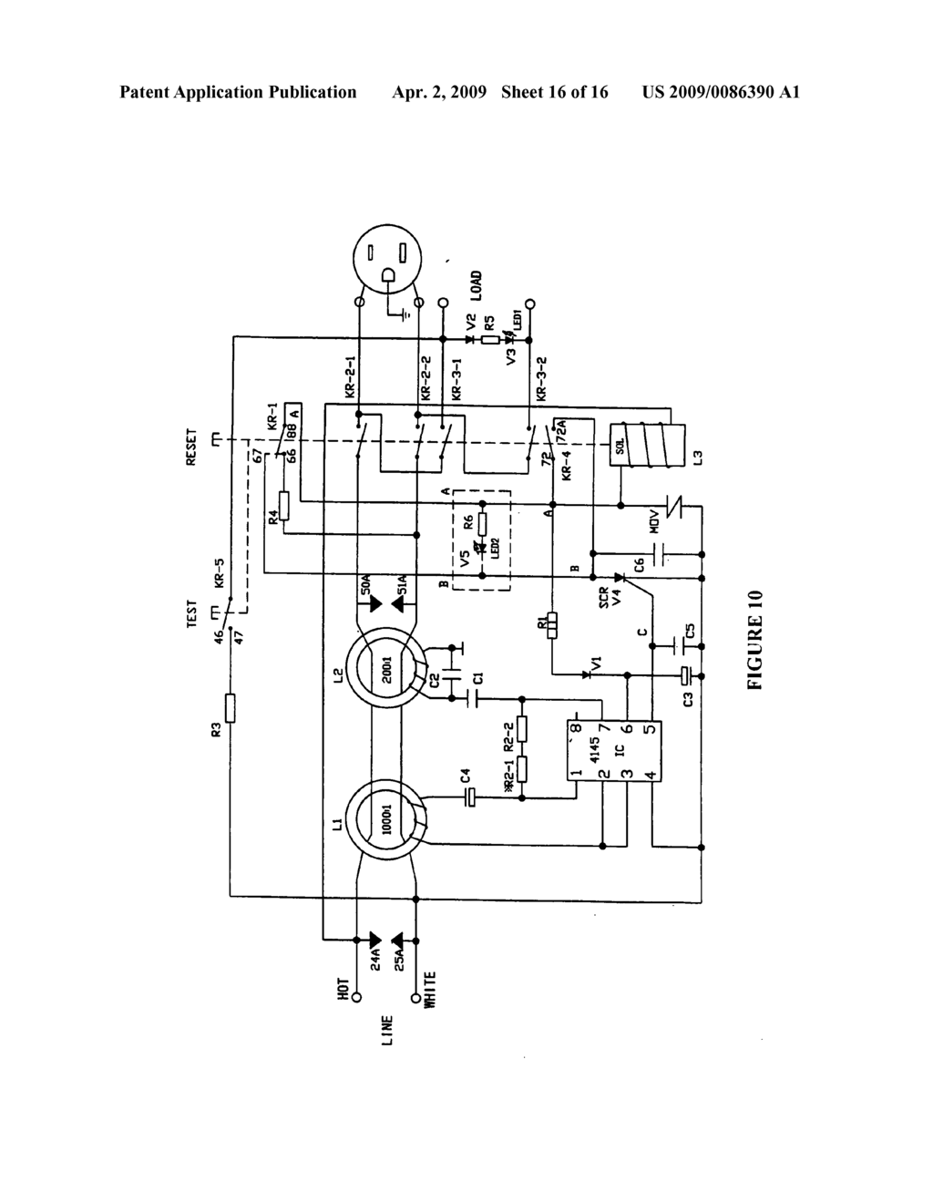 High Voltage Protection Circuit Diagram Noninverting Ac Power Amplifier Tradeoficcom Novel Interrupting Device With Surge