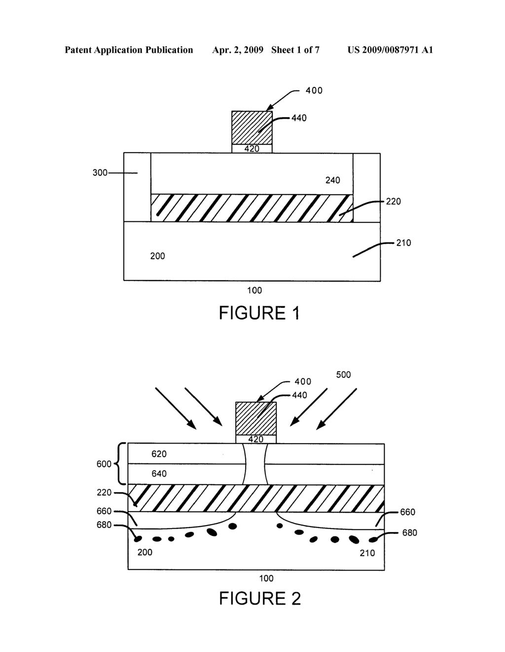 METHOD FOR FABRICATING SEMICONDUCTOR DEVICES WITH REDUCED JUNCTION DIFFUSION - diagram, schematic, and image 02