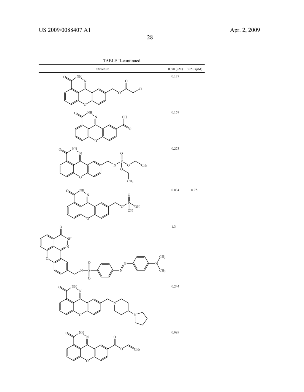 COMPOUNDS, METHODS AND PHARMACEUTICAL COMPOSITIONS FOR INHIBITING PARP - diagram, schematic, and image 30