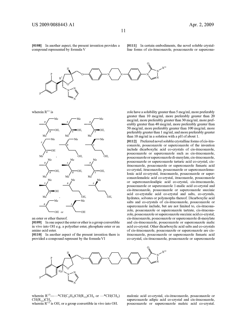 NOVEL CRYSTALLINE FORMS OF CONAZOLES AND METHODS OF MAKING AND USING THE SAME - diagram, schematic, and image 48