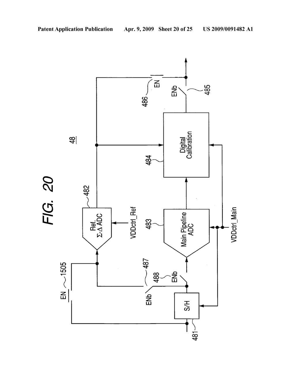 DIGITAL CALITION TYPE ANALOG-TO-DIGITAL CONVERTER AND ... on