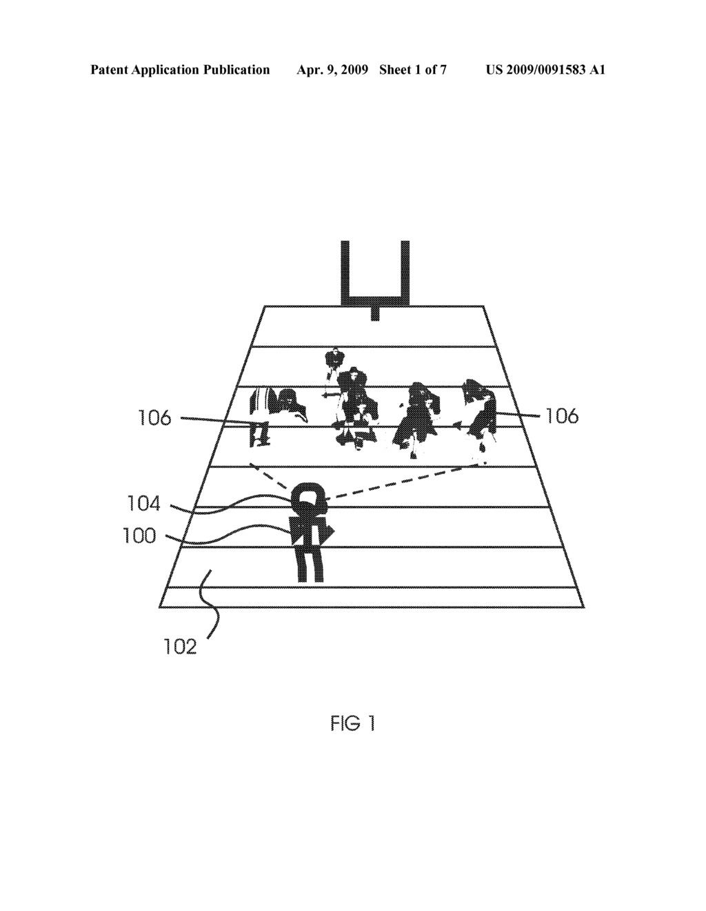 Apparatus and method for on-field virtual reality simulation of US football and other sports - diagram, schematic, and image 02