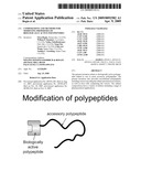 Compositions and methods for modifying properties of biologically active polypeptides diagram and image