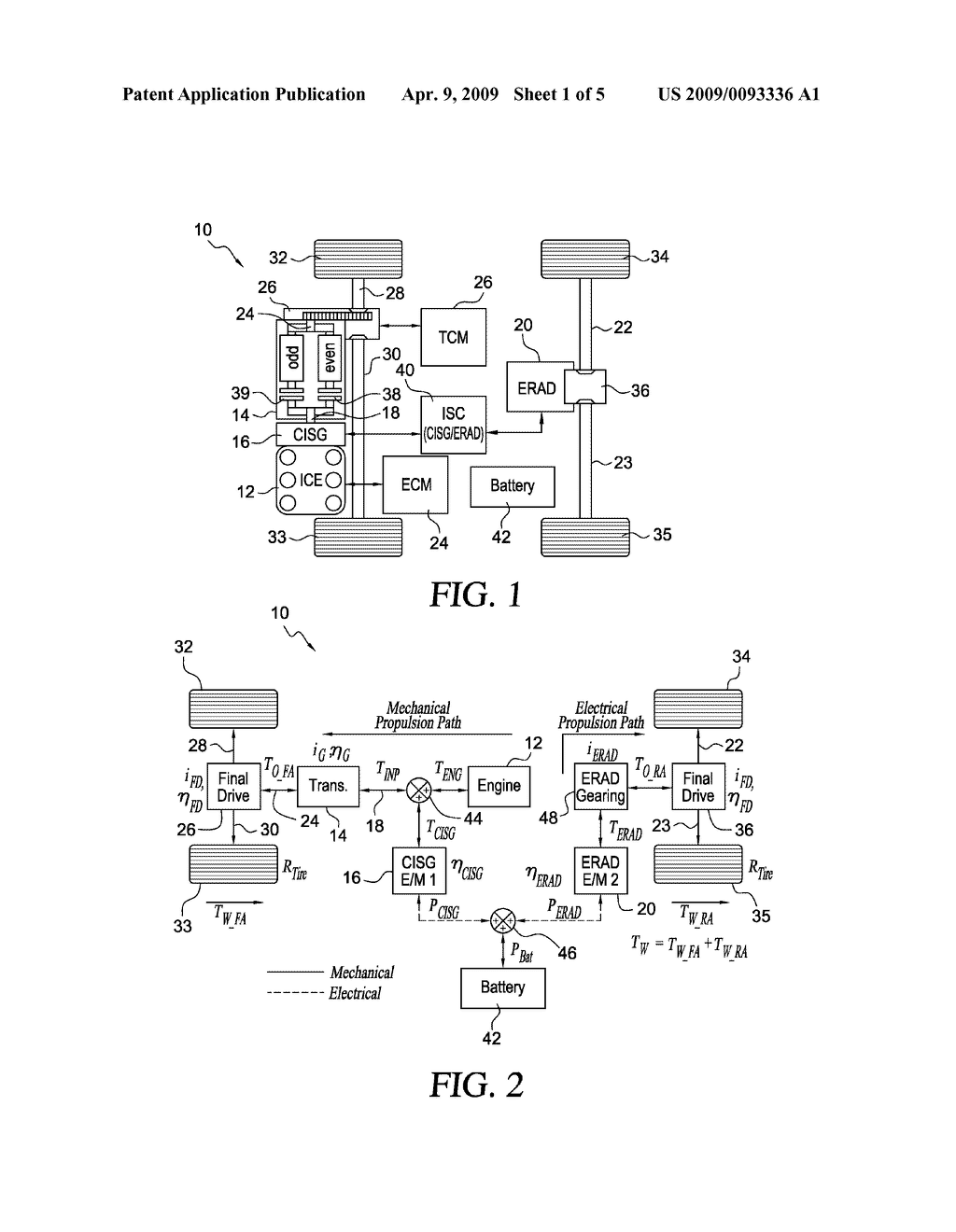 Vehicle Creep Control In A Hybrid Electric Diagram Car Schematic And Image 02