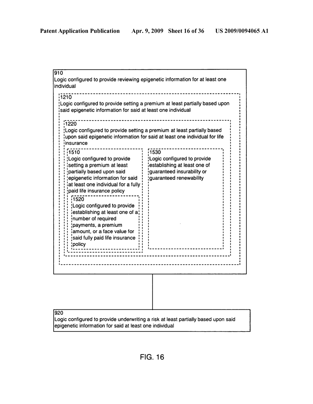 Systems and methods for underwriting risks utilizing epigenetic information - diagram, schematic, and image 17