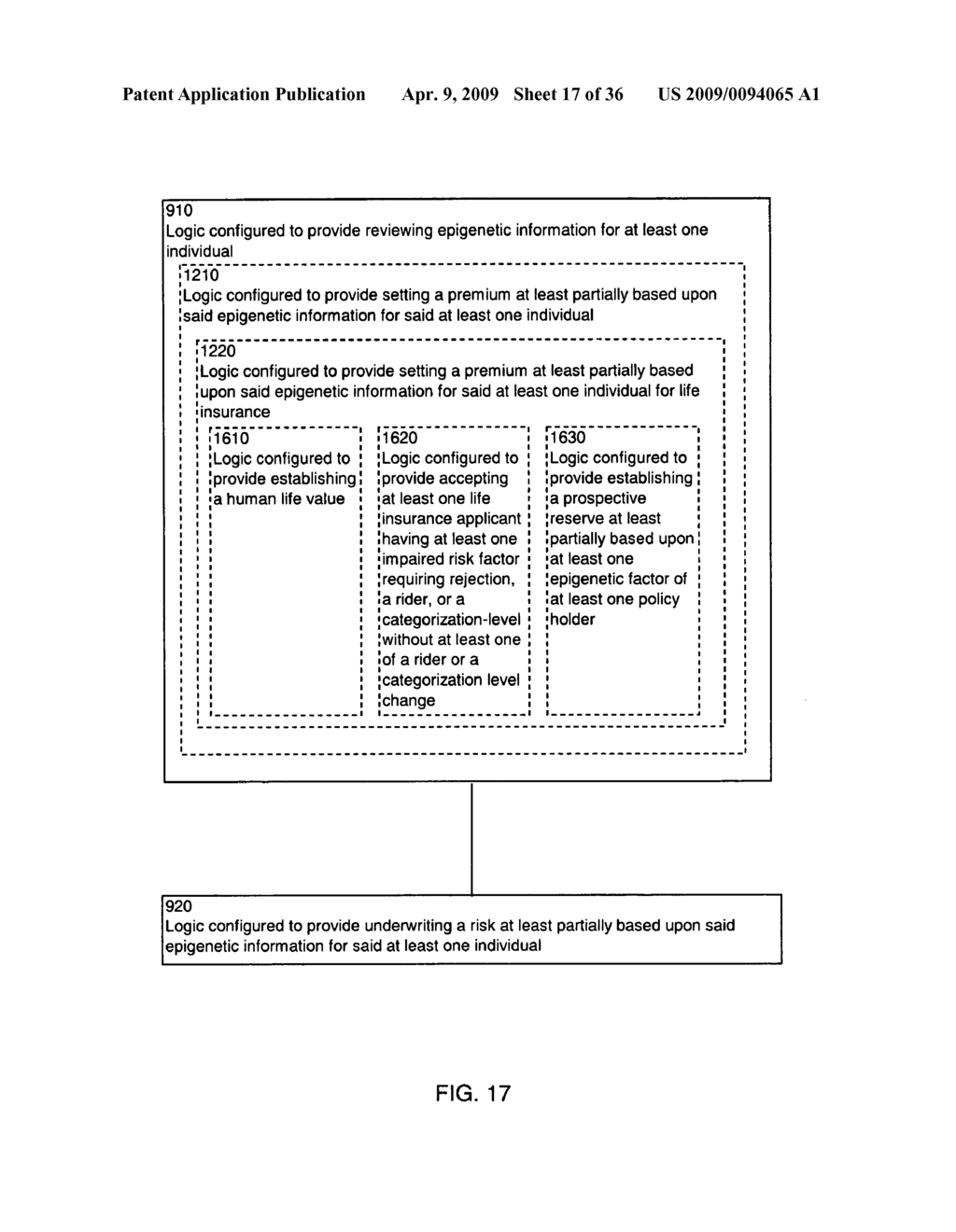 Systems and methods for underwriting risks utilizing epigenetic information - diagram, schematic, and image 18
