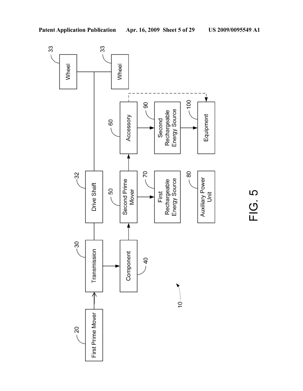 HYBRID VEHICLE DRIVE SYSTEM AND METHOD AND IDLE REDUCTION SYSTEM AND METHOD - diagram, schematic, and image 06